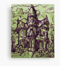Hotel California - Haunted House Canvas Print