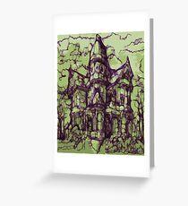Hotel California - Haunted House Greeting Card