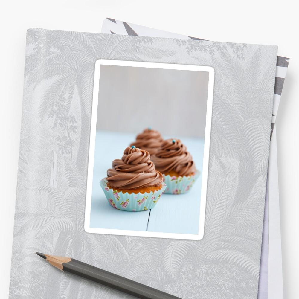 Chocolate cupcakes by Elisabeth Coelfen