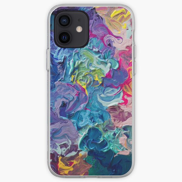 Rainbow Flow Abstraction iPhone Soft Case