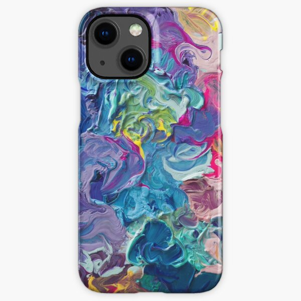 Rainbow Flow Abstraction iPhone Snap Case