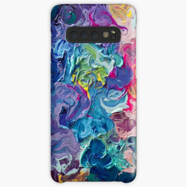 Rainbow Flow Abstraction Samsung Galaxy Snap Case