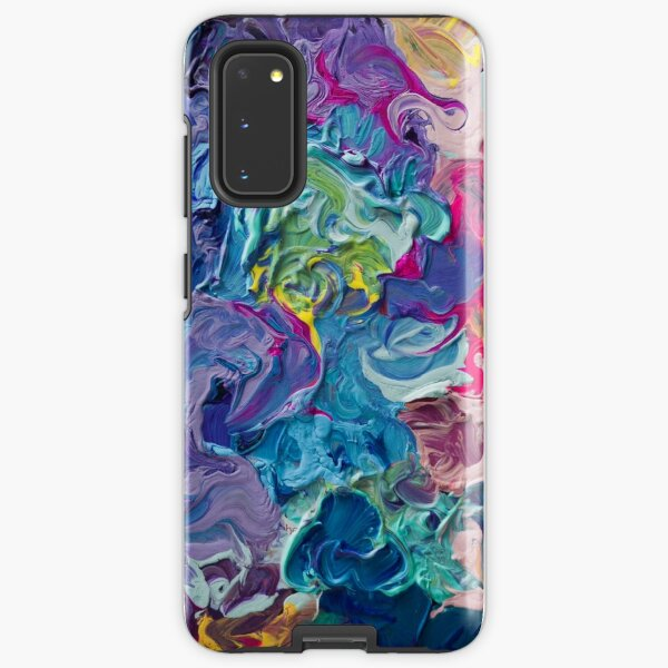 Rainbow Flow Abstraction Samsung Galaxy Tough Case