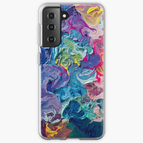 Rainbow Flow Abstraction Samsung Galaxy Soft Case