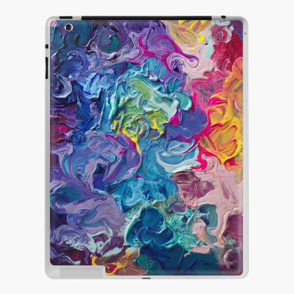 Rainbow Flow Abstraction iPad Skin