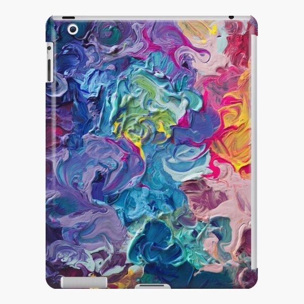 Rainbow Flow Abstraction iPad Snap Case