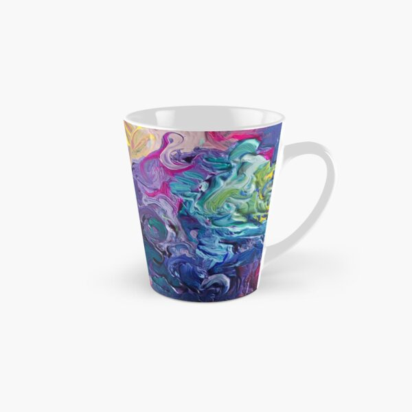 Rainbow Flow Abstraction Tall Mug