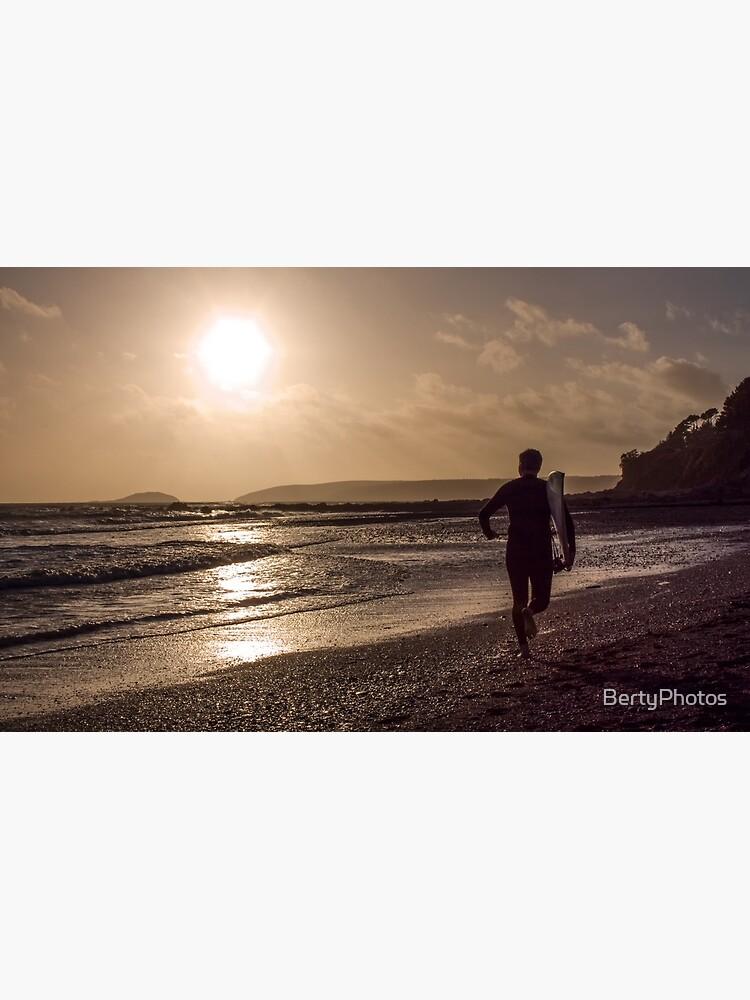 Seaton Surfer - 24/10/09 by BertyPhotos