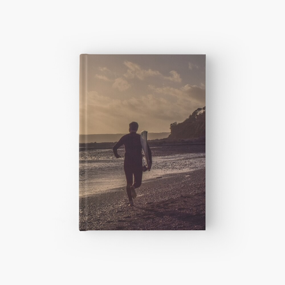 Seaton Surfer - 24/10/09 Hardcover Journal
