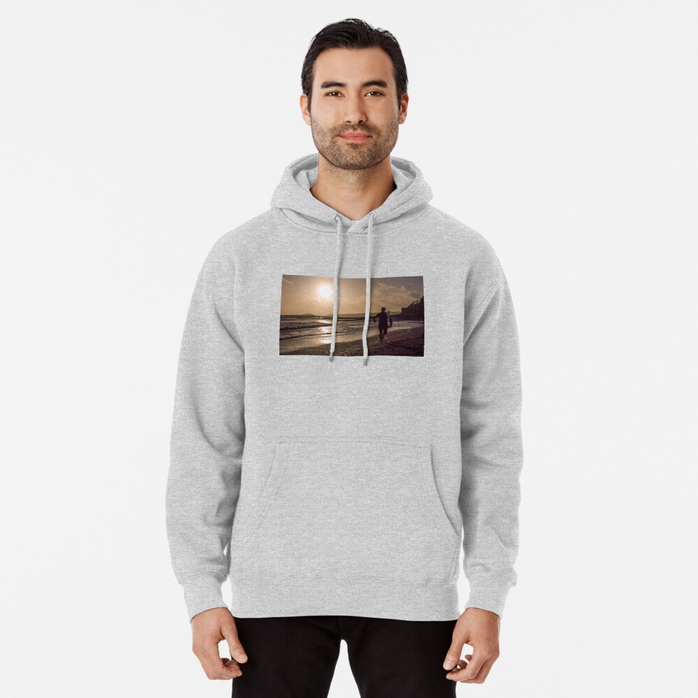 Seaton Surfer - 24/10/09 Pullover Hoodie