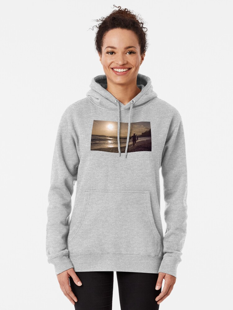 Alternate view of Seaton Surfer - 24/10/09 Pullover Hoodie
