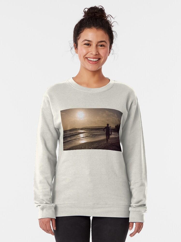 Alternate view of Seaton Surfer - 24/10/09 Pullover Sweatshirt