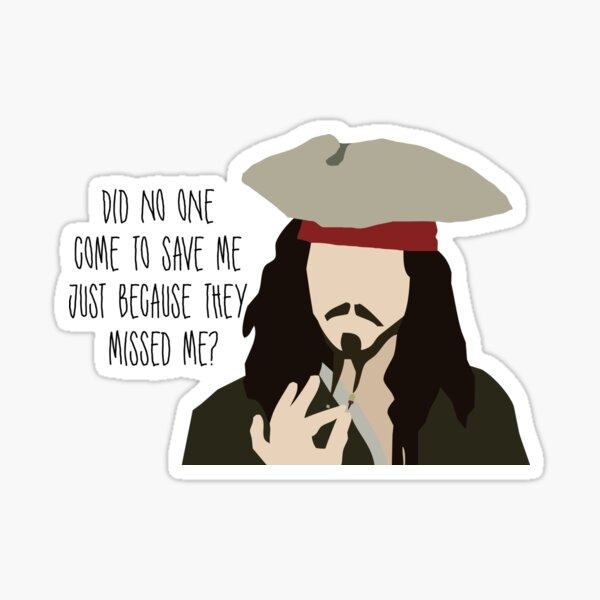 Jack Sparrow Sticker