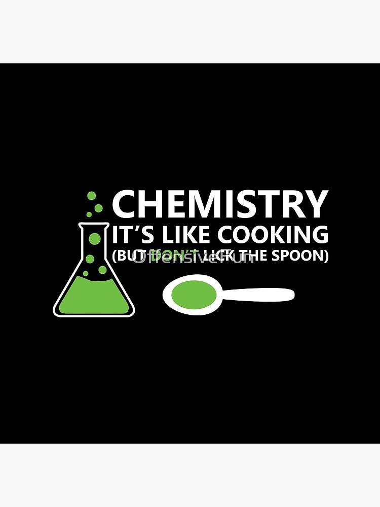 Lustige Chemie Sprüche Stofftasche Von Offensivefun Redbubble