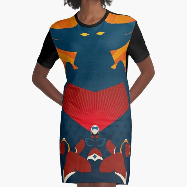 Goldrake/Actarus - Graphic Graphic T-Shirt Dress