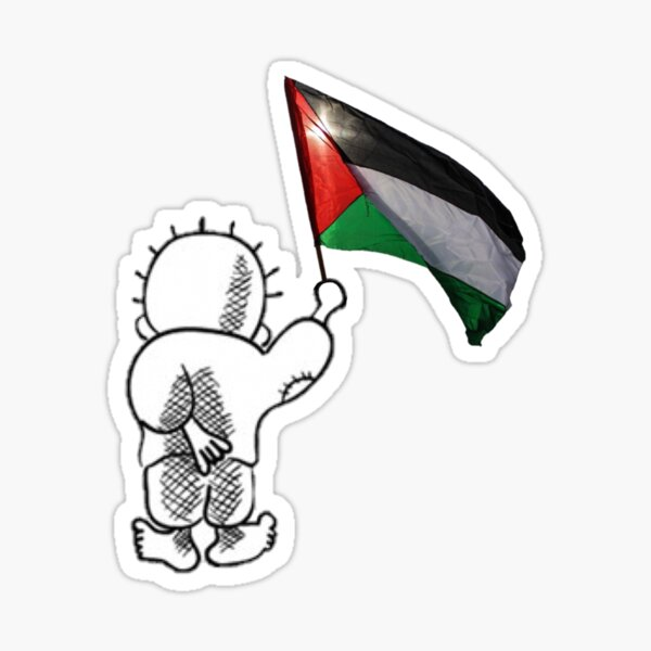 Handala - Free Palestine Symbol Sticker