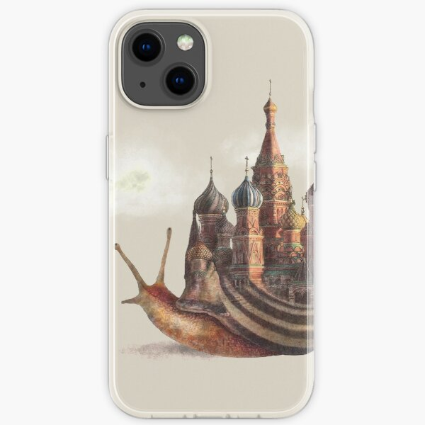 The Snail's Daydream iPhone Soft Case