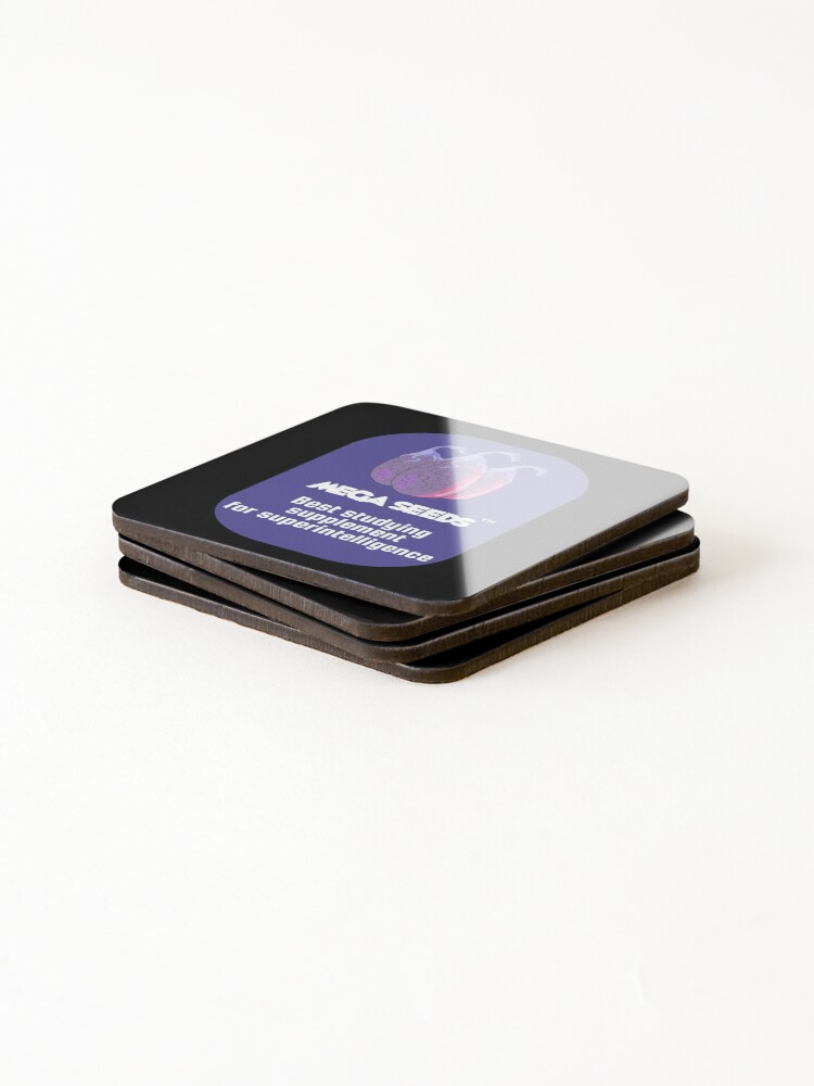 Alternate view of Mega Seeds - Rick and Morty Coasters (Set of 4)