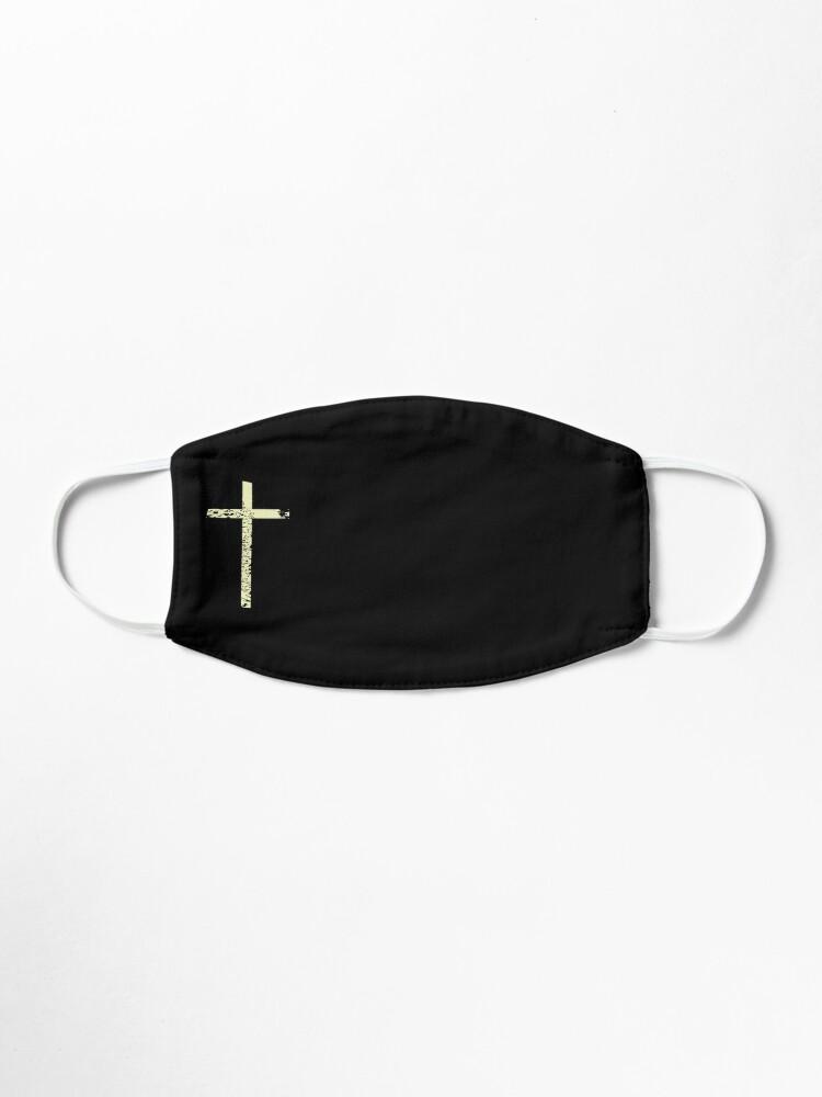 Alternate view of cross Mask