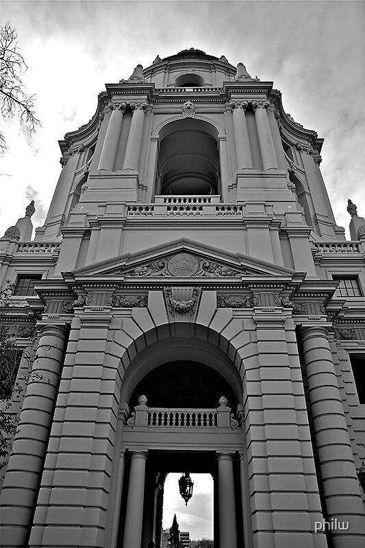 Pasadena City Hall.  by philw