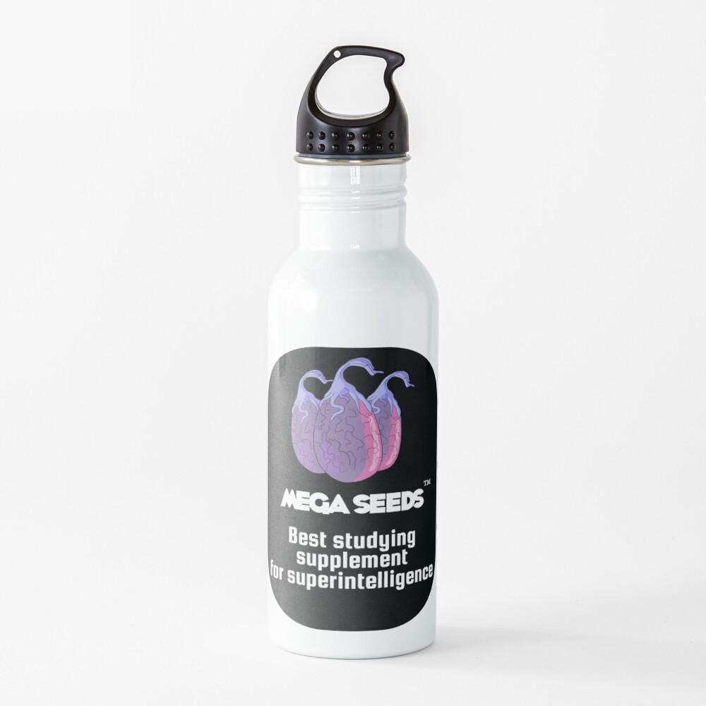 Mega Seeds - Rick and Morty Water Bottle