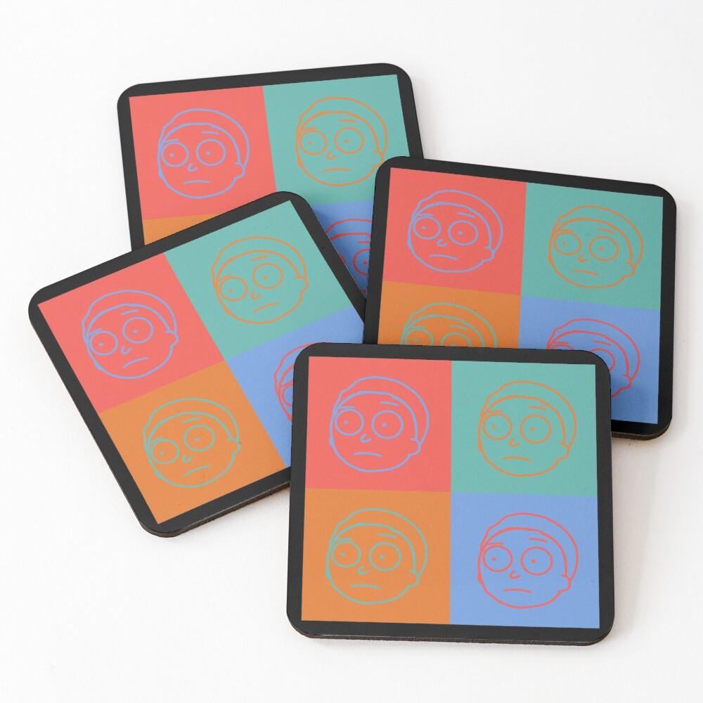 Morty Smith - Rick and Morty Coasters (Set of 4)