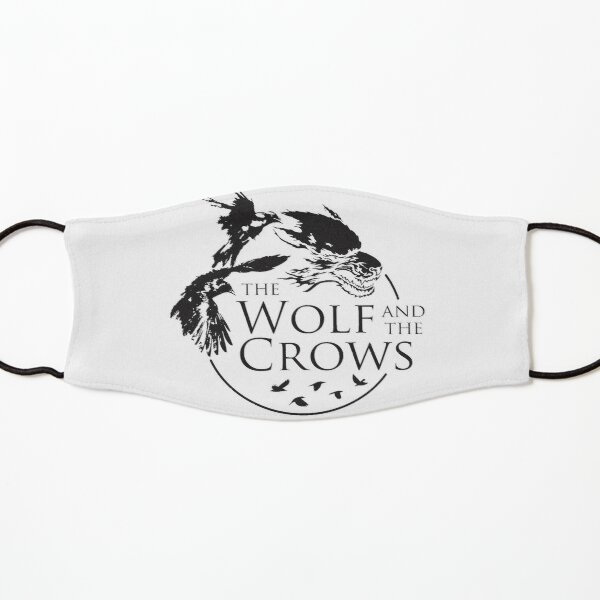 The Wolf and The Crows Logo Kids Mask