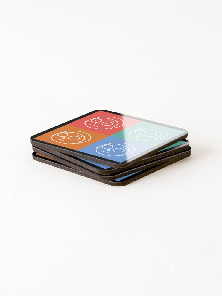 Alternate view of Morty Smith - Rick and Morty Coasters (Set of 4)