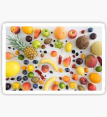 Collection of summer fruits Sticker