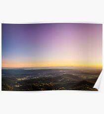 Lockyer Valley Sunrise Poster