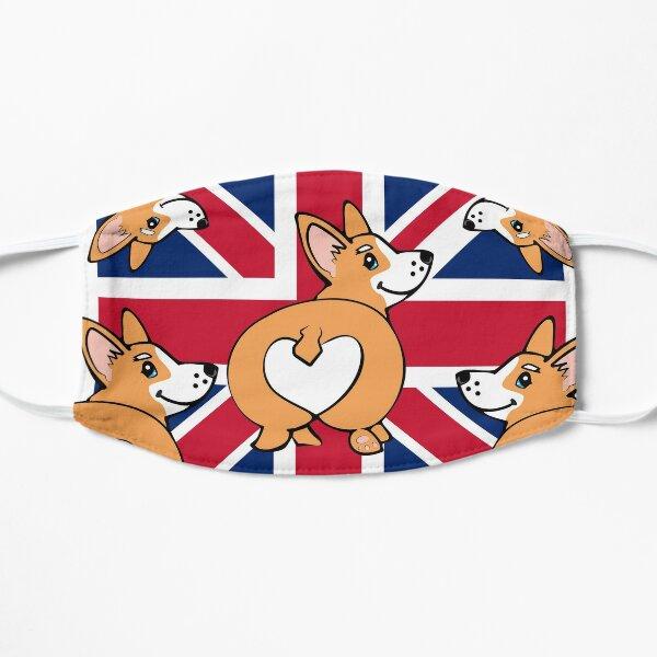 Corgi Love from the UK | Union Jack Pups Mask