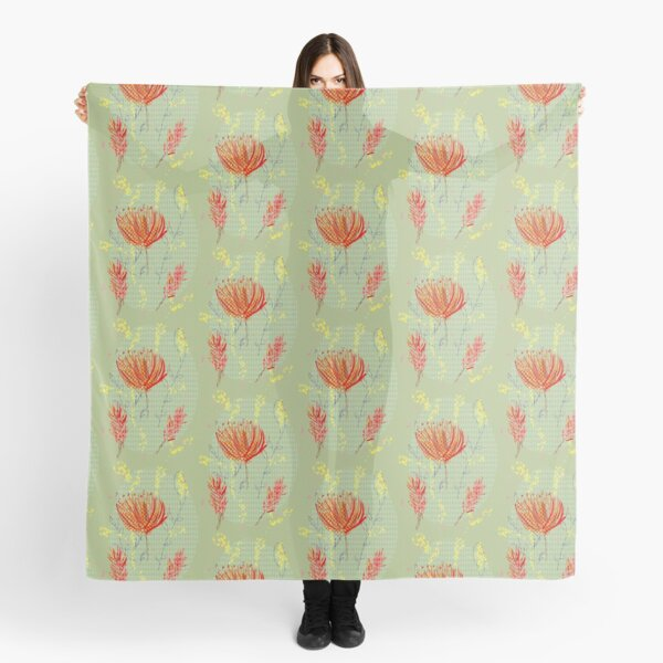 native flowers Scarf