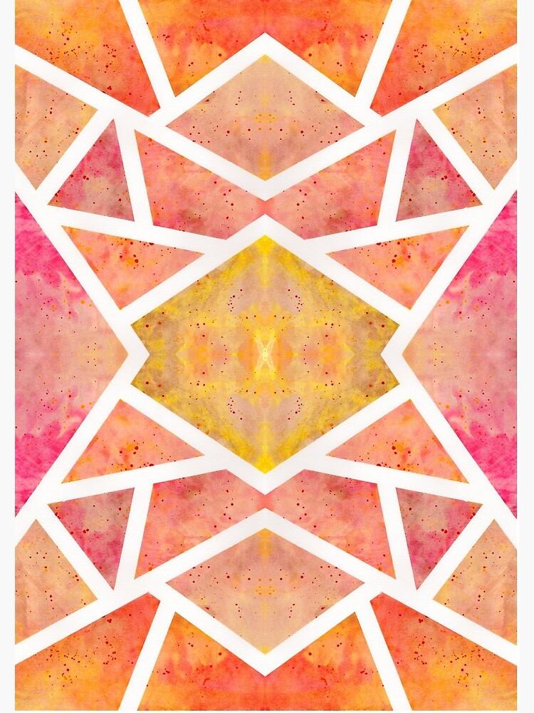 «Mosaïque Orange » par Liloographie84