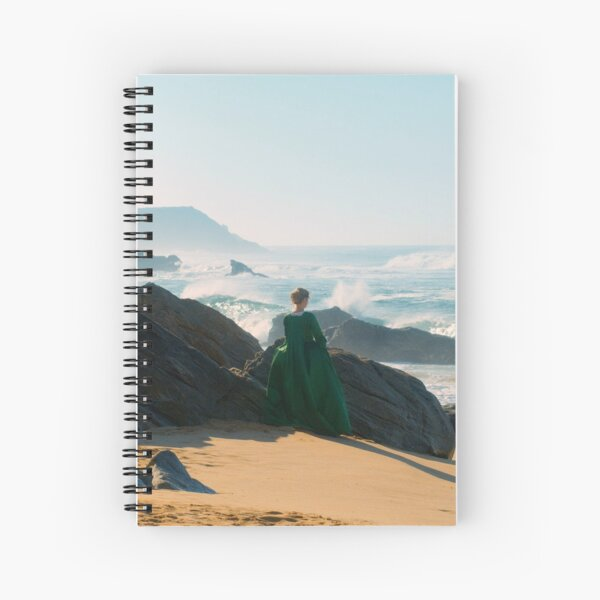 Portrait of a lady on fire Spiral Notebook