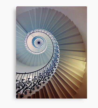 Tulip Staircase (Color) Canvas Print