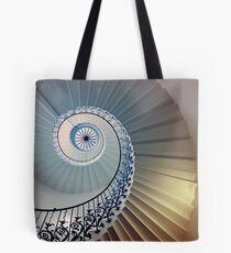 Tulip Staircase (Color) Tote Bag
