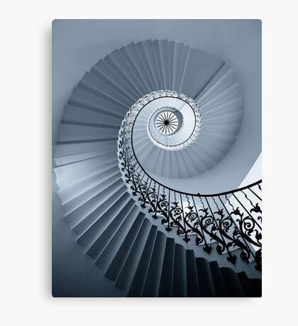 Tulip Staircase (Mono) Canvas Print
