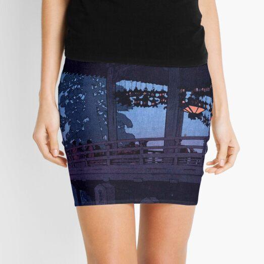 Evening in Nara by Yoshida Hiroshi Mini Skirt