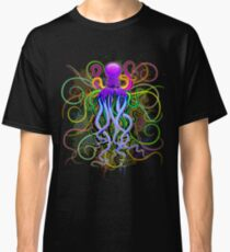 Octopus Psychedelic Luminescence Classic T-Shirt