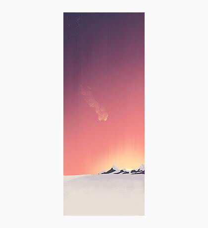 SUNRISE - Winter's First Light Photographic Print