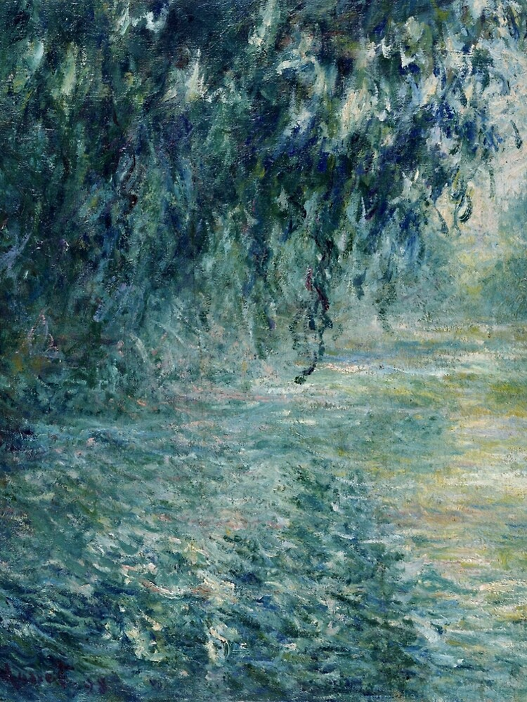 Monet Morning on the Seine Fine Art by bragova