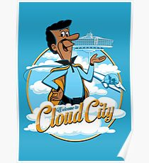 Welcome to Cloud City Poster