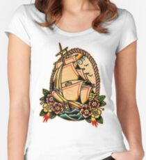 Spitshading 013 Women's Fitted Scoop T-Shirt