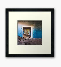 Forgotten Doorway Framed Print