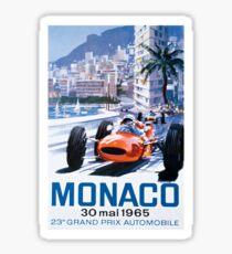 Monaco F1 Classic 1965 Sticker