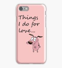 COURAGE THE COWARDLY DOG iPhone Case/Skin