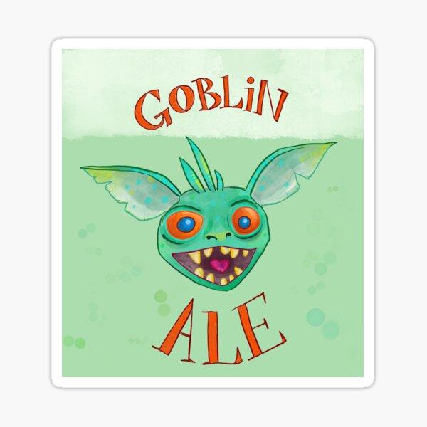 Goblin Ale!  Sticker
