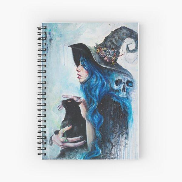 Blue Valentine Spiral Notebook