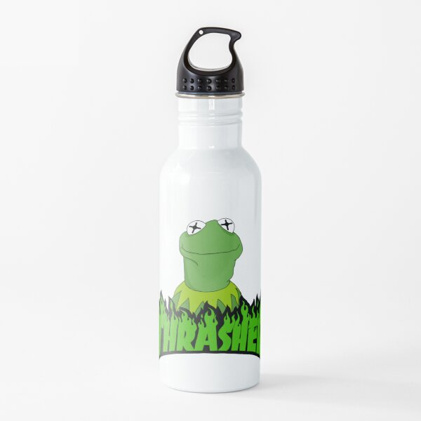 sk8r kermit Water Bottle