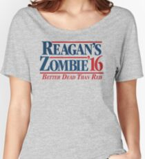Reagan's Zombie 2016 Women's Relaxed Fit T-Shirt